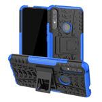 Чехол Yotrix Shockproof case для Huawei P smart Z (синий, пластиковый)