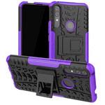 Чехол Yotrix Shockproof case для Huawei P smart Z (фиолетовый, пластиковый)