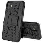 Чехол Yotrix Shockproof case для Apple iPhone 11 (черный, пластиковый)