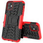 Чехол Yotrix Shockproof case для Apple iPhone 11 (красный, пластиковый)