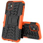 Чехол Yotrix Shockproof case для Apple iPhone 11 (оранжевый, пластиковый)