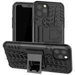 Чехол Yotrix Shockproof case для Apple iPhone 11 pro (черный, пластиковый)