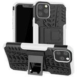 Чехол Yotrix Shockproof case для Apple iPhone 11 pro (белый, пластиковый)
