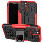 Чехол Yotrix Shockproof case для Apple iPhone 11 pro (красный, пластиковый)