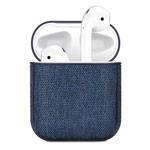 Чехол Synapse Fabric Case для Apple AirPods (темно-синий, тканевый)