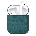 Чехол Synapse Fabric Case для Apple AirPods (темно-зеленый, тканевый)