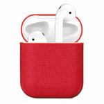 Чехол Synapse Fabric Case для Apple AirPods (красный, тканевый)