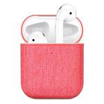 Чехол Synapse Fabric Case для Apple AirPods (розовый, тканевый)