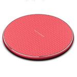 Беспроводное зарядное устройство Synapse Qi Wireless Charger (красное, Fast Charge, QI)