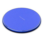 Беспроводное зарядное устройство Synapse Qi Wireless Charger (синее, Fast Charge, QI)