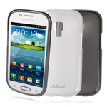 Чехол Jekod Soft case для Samsung Galaxy S4 mini i9190 (белый, гелевый)
