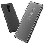 Чехол Yotrix FlipView case для Xiaomi Redmi Note 8 pro (черный, пластиковый)