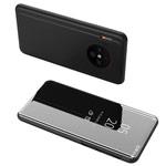 Чехол Yotrix FlipView case для Huawei Mate 30 pro (черный, пластиковый)