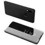 Чехол Yotrix FlipView case для Xiaomi Redmi 7 (черный, пластиковый)