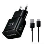 Зарядное устройство Samsung Travel Adapter универсальное (15W, Fast Charge, черное, USB Type C)
