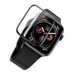 Защитное стекло Hoco Tempered Glass для Apple Watch 44 мм (черное)