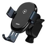 Беспроводное зарядное устройство Remax Sensor Car Vent Wireless Charger (черное, автомобильное, автозахват, Fast Charge, QI)