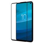 Защитное стекло Yotrix 3D SE Glass Protector для Samsung Galaxy S10 lite (черное)