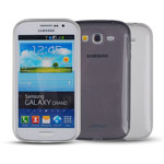 Чехол Jekod Soft case для Samsung Galaxy Young S6310 (белый, гелевый)