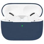Чехол Synapse Protection Case для Apple AirPods pro (темно-синий, силиконовый)