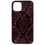 Чехол Kajsa Dale Glamorous Snake 2 для Apple iPhone 11 (красный, кожаный)