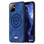 Чехол Marvel Avengers Leather case для Apple iPhone 11 (Captain America, матерчатый)