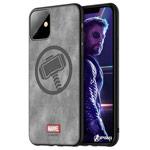 Чехол Marvel Avengers Leather case для Apple iPhone 11 (Thor, матерчатый)
