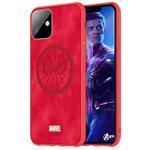 Чехол Marvel Avengers Leather case для Apple iPhone 11 (Spider-Man, матерчатый)