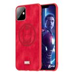 Чехол Marvel Avengers Leather case для Apple iPhone 11 (Ironman, матерчатый)