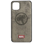 Чехол Marvel Avengers Leather case для Apple iPhone 11 pro (Thor, матерчатый)