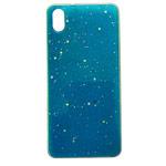 Чехол Yotrix GlitterFoil Case для Xiaomi Redmi 7A (голубой, гелевый)