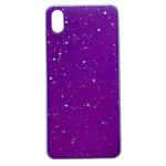 Чехол Yotrix GlitterFoil Case для Xiaomi Redmi 7A (сиреневый, гелевый)