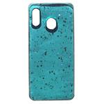 Чехол Yotrix GlitterFoil Case для Samsung Galaxy A30 (голубой, гелевый)