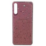 Чехол Yotrix GlitterFoil Case для Samsung Galaxy A50 (розовый, гелевый)