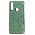 Чехол Yotrix GlitterFoil Case для Huawei P30 lite (бирюзовый, гелевый)