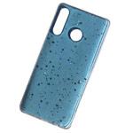 Чехол Yotrix GlitterFoil Case для Huawei P30 lite (голубой, гелевый)