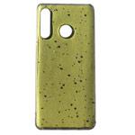 Чехол Yotrix GlitterFoil Case для Huawei P30 lite (желтый, гелевый)