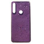 Чехол Yotrix GlitterFoil Case для Huawei P30 lite (сиреневый, гелевый)