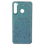 Чехол Yotrix GlitterFoil Case для Xiaomi Redmi Note 8 (бирюзовый, гелевый)