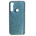 Чехол Yotrix GlitterFoil Case для Xiaomi Redmi Note 8 (голубой, гелевый)