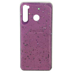 Чехол Yotrix GlitterFoil Case для Xiaomi Redmi Note 8 (розовый, гелевый)
