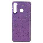 Чехол Yotrix GlitterFoil Case для Xiaomi Redmi Note 8 (сиреневый, гелевый)