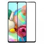 Защитное стекло Yotrix 3D Pro Glass Protector для Samsung Galaxy A71 (черное)
