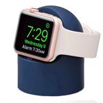 Подставка Synapse Charging Dock для часов Apple Watch (синяя, силиконовая)