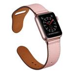 Ремешок для часов Synapse Prime Band для Apple Watch (40/38 мм, розовый, кожаный)
