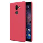 Чехол Nillkin Hard case для Nokia 7 plus (красный, пластиковый)