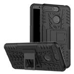 Чехол Yotrix Shockproof case для Huawei Y6 2018 (черный, пластиковый)