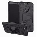 Чехол Yotrix Shockproof case для Huawei Honor 7C (черный, пластиковый)