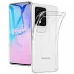 Чехол Yotrix UltrathinCase для Samsung Galaxy S20 ultra (прозрачный, гелевый)