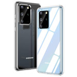 Чехол Yotrix UltrathinCase для Samsung Galaxy S20 plus (прозрачный, гелевый)